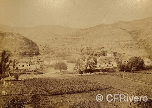 Edmond Guillemin-Tarayre. Village de Dudar. Granada. 1888. Albúmina (CFRivero)