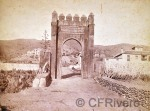 Edmond Guillemin-Tarayre. Granada, Arco árabe que perteneció a la Casa de las Gallinas. Albúmina sobre papel. (CFRivero)