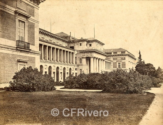 Robert P. Napper. 2559 Madrid, Prado. Fontaine & Musée [Frith's Series] Albúmina. 1863 (CFRivero)