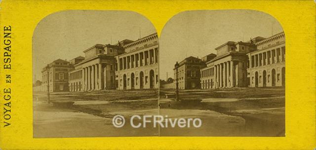 Ferrier père et fils et Soulier. Madrid, Museo de pinturas. 1857. Estereoscopia en albúmina (CFRivero)