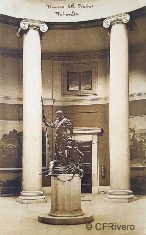 Hauser y Menet. Madrid, Museo del Prado, rotonda. ca. 1930. Tarjeta Postal en impresión fotomecánica (CFRivero)