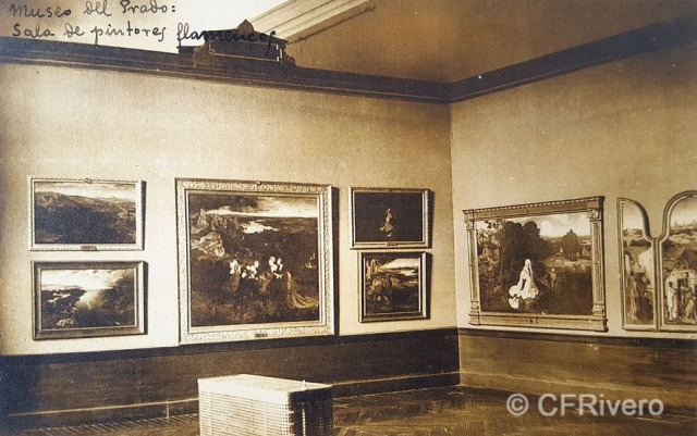 Hauser y Menet. Madrid, Museo del Prado, Sala de Pintura Flamenca. ca. 1930. Tarjeta Postal en impresión fotomecánica (CFRivero)