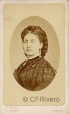 Jean Laurent. María Victoria dall Pozzo. h. 1871. Albúmina (CFRivero)
