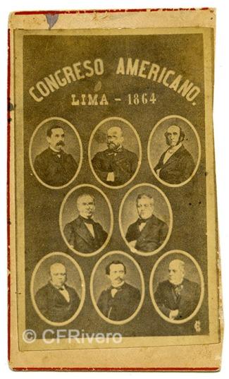Lima 1864. Carte de visite en albúmina (CFRivero)