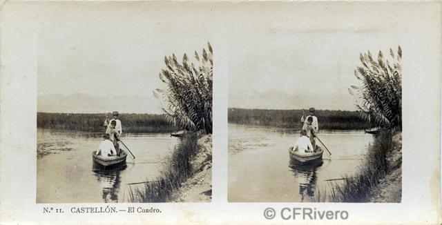 Alberto Martín ed. Castellón, el Cuadro. 1910/20. Estereoscopia en gelatina de plata. (CFRivero)