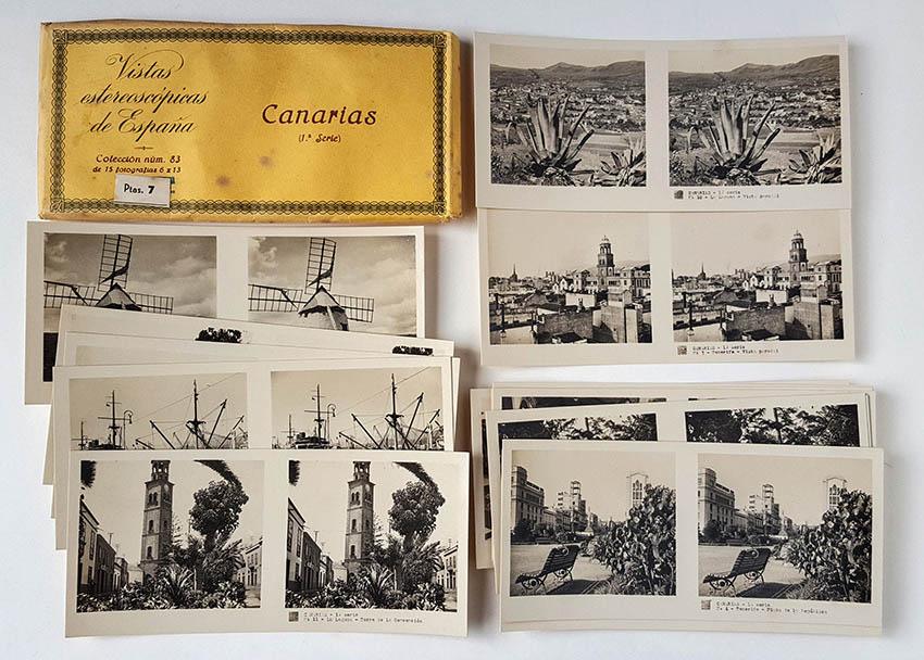 Colección de vistas estereoscópicas Rellev, Col. Canarias, editadas hacia 1935