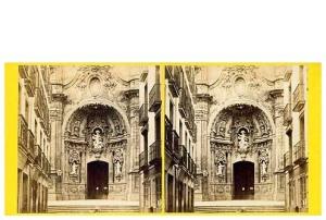245. Frank Good. San Sebastian. Estereoscopia en albúmina. 1869