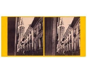 248. Frank Good. [Zaragoza. San Felipe] Estereoscopia en albúmina. 1869