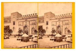 269. Frank Good. Valencia, la Lonja de cambio. Estereoscopia en albúmina. 1869