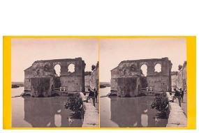 302. Frank Good. Córdoba. Molino árabe. Aún en uso. Estereoscopia en albúmina. 1869