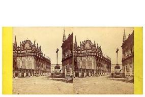 319. Frank Good. Sevilla. Parte de Mezquita en la Catedral. Estereoscopia en albúmina. 1869