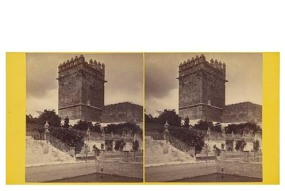 Frank M. Good. 305. Córdoba Torre de la Mala Muerte. Estereoscopia en albúmina. Digital image courtesy of the Getty's Open Content Program.