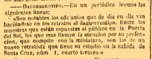 El Clamor Público, 3/04/1851