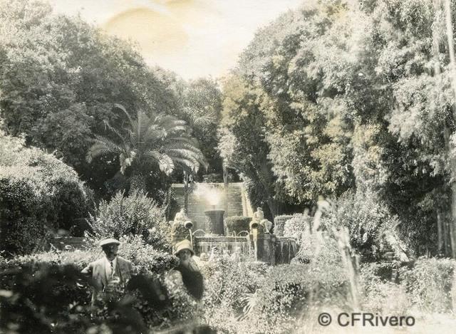 Autor desconocido. Spain, Málaga, Haciende [El Retiro]. Ca. 1935. Gelatina de plata (CFRivero)