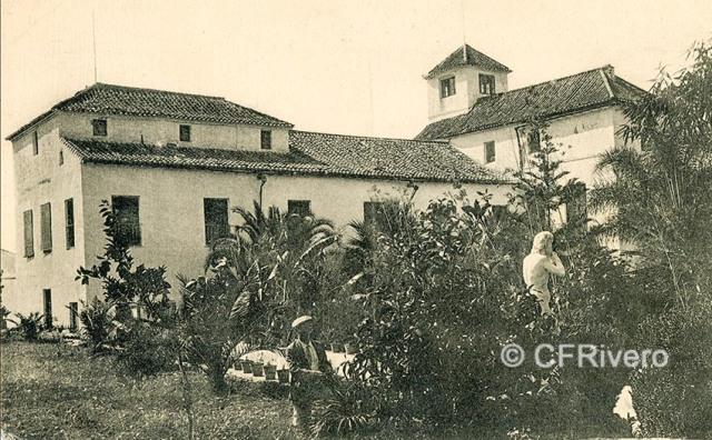 Lacoste ed. 1 Málaga.- El Retiro: Casa Palacio. Ca. 1908. Tarjeta postal. (CFRivero)