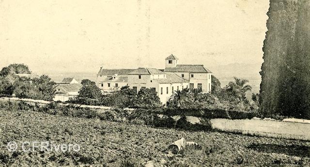 Lacoste ed. 2 Málaga.- El Retiro: Casa Palacio. Ca. 1908. Tarjeta postal (CFRivero)