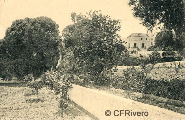 Lacoste ed. 3 Málaga.- El Retiro. Ca. 1908. Tarjeta postal (CFRivero)