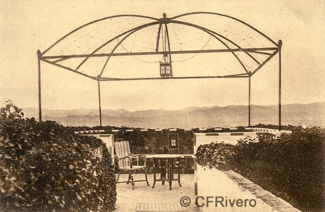 """Editor desconocido. Málaga.-""""El Retiro"""". El Mirador. Ca. 1920. Tarjeta postal. (CFRivero)"""