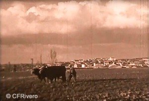 "Fotograma del cortometraje ""From Granada to Toledo"". James Fitzpatrick 1929. 16 mm. (CFRivero)"