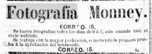 El Noticiero Bilbaino del 16 de Julio de 1881