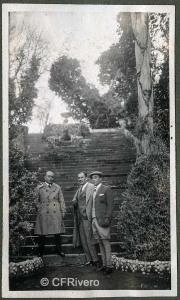 Autor desconocido. El Retiro (Málaga) Carlos Arcos Cuadra y Joaquín Maldá. 1927. Gelatina de plata sobre papel. (CFRivero)