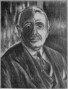 Anónimo. Retrato de Rafael Murillo Carreras. La Esfera 28/12/1929