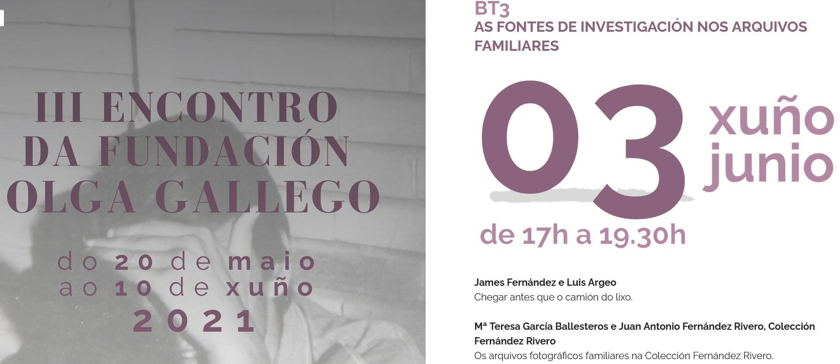 III Encontro fundacion Olga Gallego